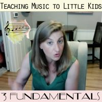 Teaching Music to Little Kids